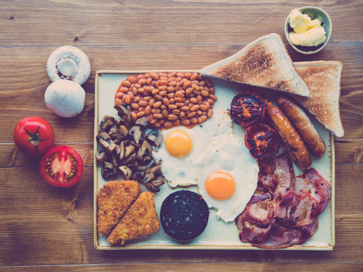 English breakfast / foto: Jonathan Farber (unsplash)