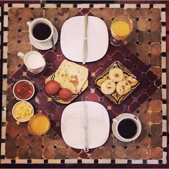 Desayuno marroquía / Foto: Eduardo Azcona