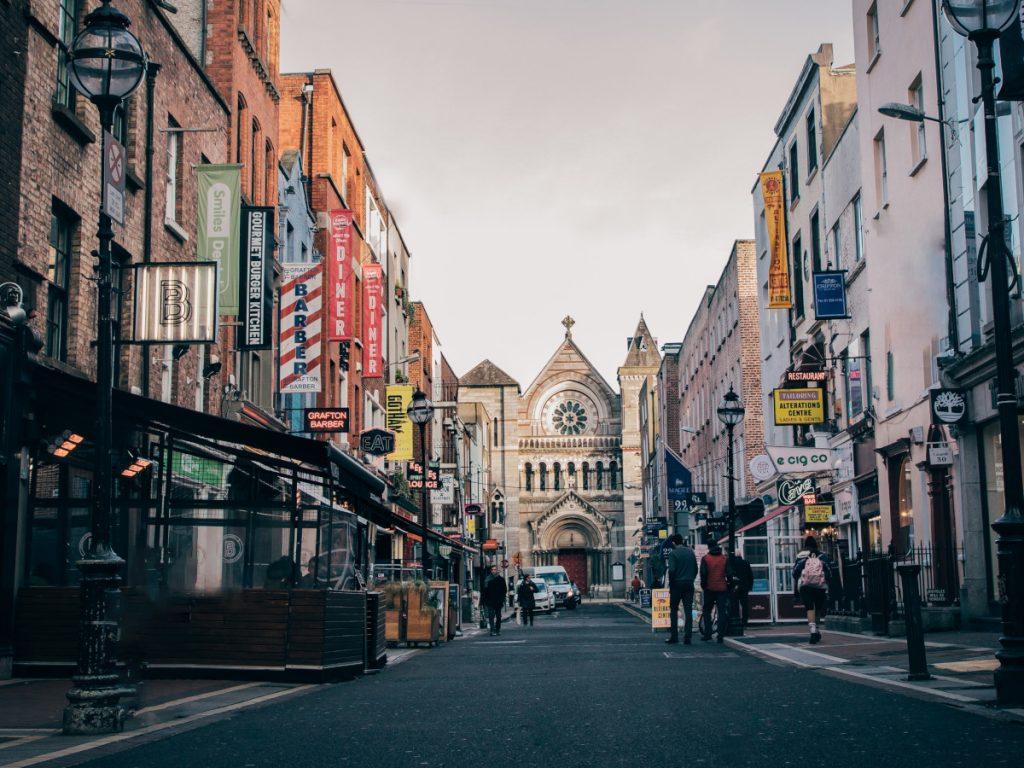 Anne Street, Dublin, Irlanda / Foto: Gregory Dalleau (unsplash)