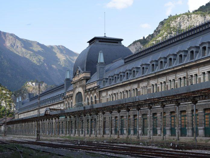 Estación Internacional de Canfranc / Foto: Marc Celeiro [CC BY-SA 4.0]