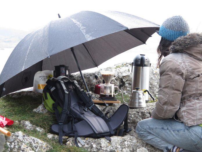 Amatter Coffee en el Embalse de Ullíbarri-Gamboa. Foto: Eduardo Azcona