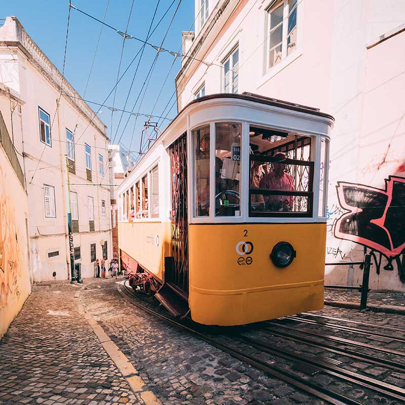 Lisboa, Portugal / Foto: Matthew Foulds (unsplash)