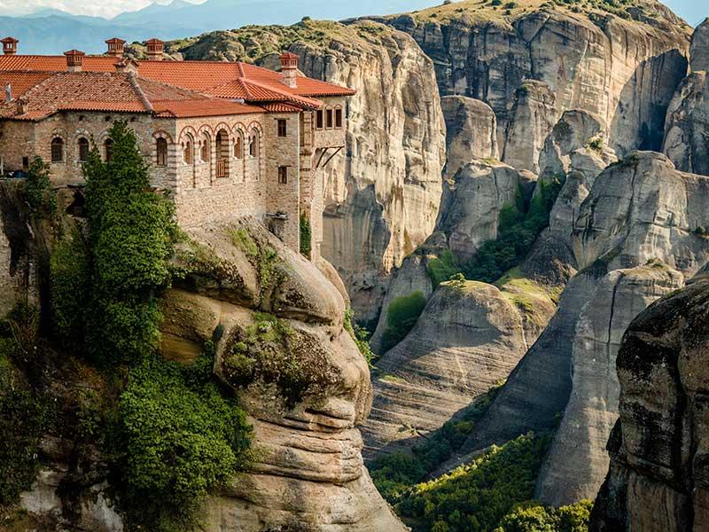 Meteora, Grecia / Foto: Sorin Cicos (unsplash)