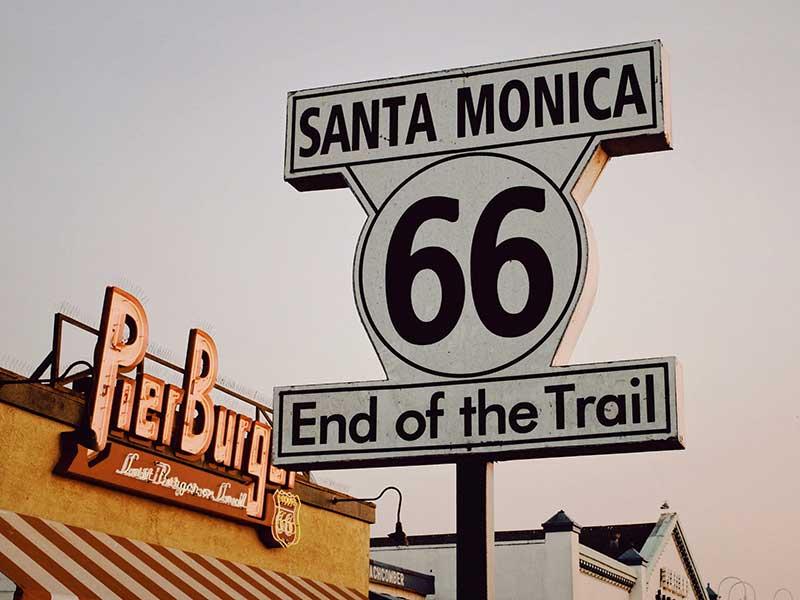 Ruta 66, Santa Monica Pier, Santa Monica, EEUU / Foto: Ann Kathrin Bopp (unsplash)