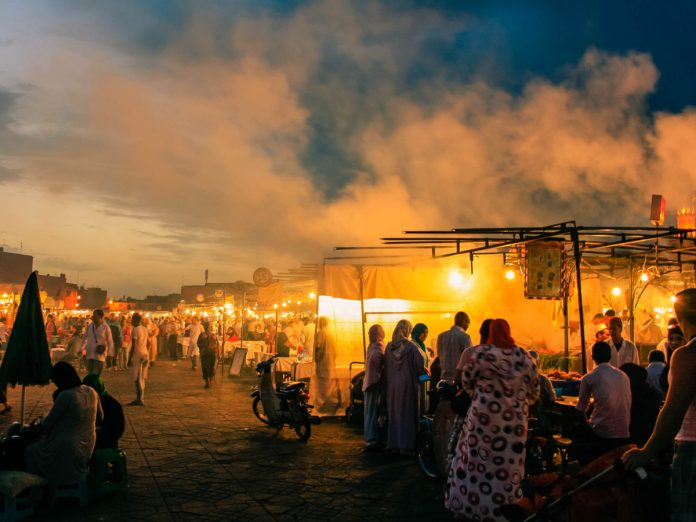 Djemaa el Fna, Marrakech, Marruecos / Foto: Juan Ignacio Tapia (unsplash)
