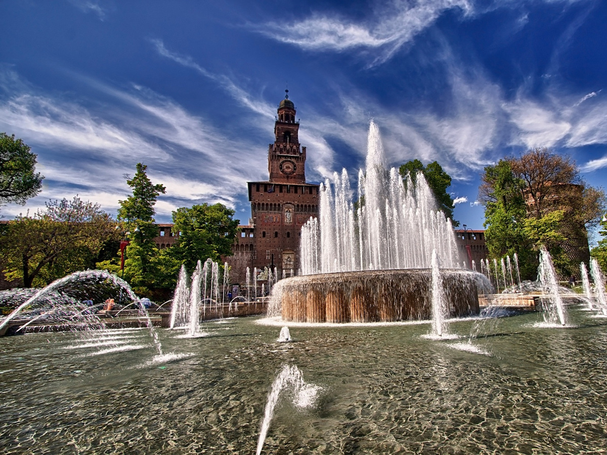 Castello Sforzesco, Milán / Foto: Pippocucu (Pixabay)