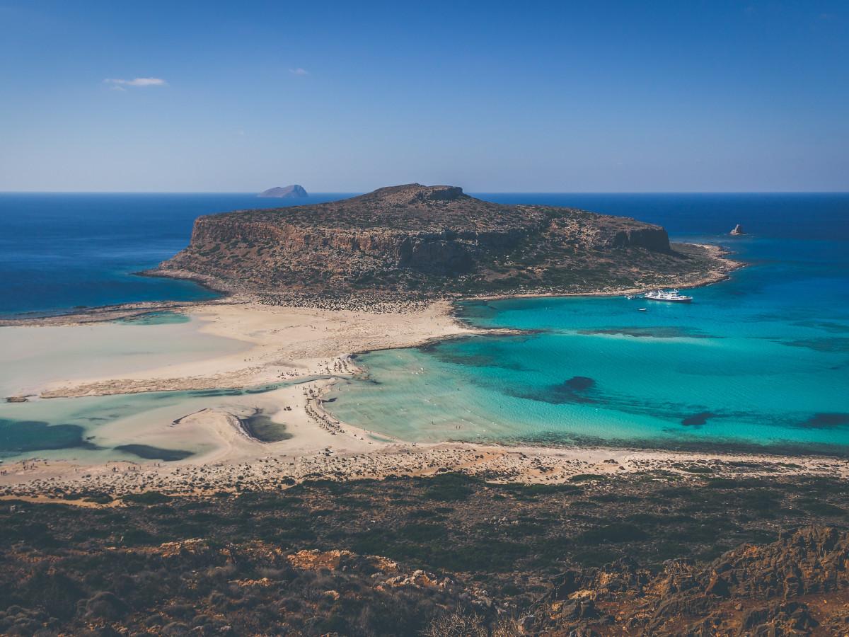 Playa y Laguna de Balos, Kissamos, Grecia / Foto: Arthur Yeti (unsplash)