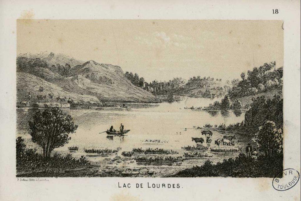 Lac de Lourdes / Foto: André Gorse [Public-domain] Wikimedia Commons