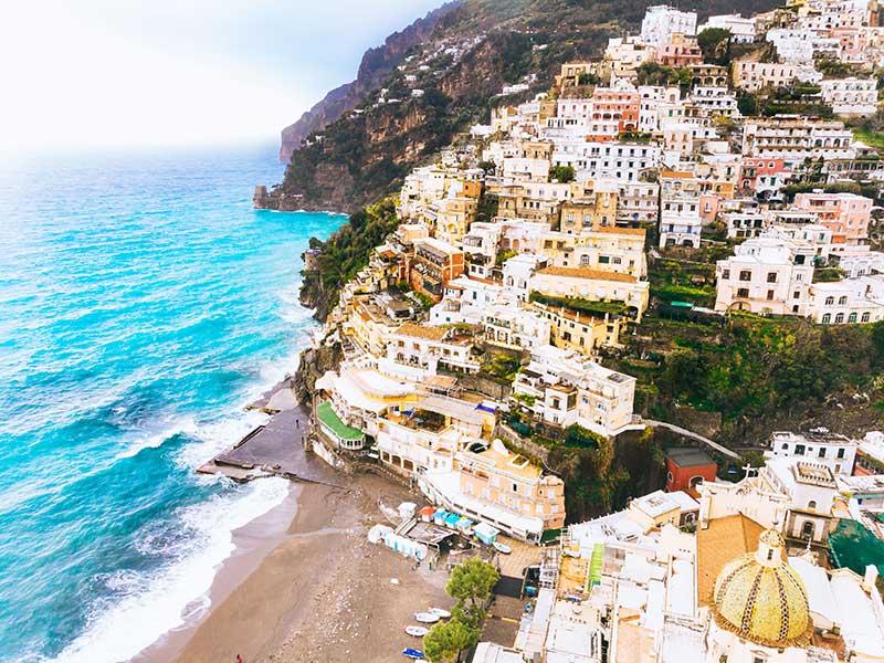 Costa de Amalfi / Foto: Edgar Chaparro (unsplash)