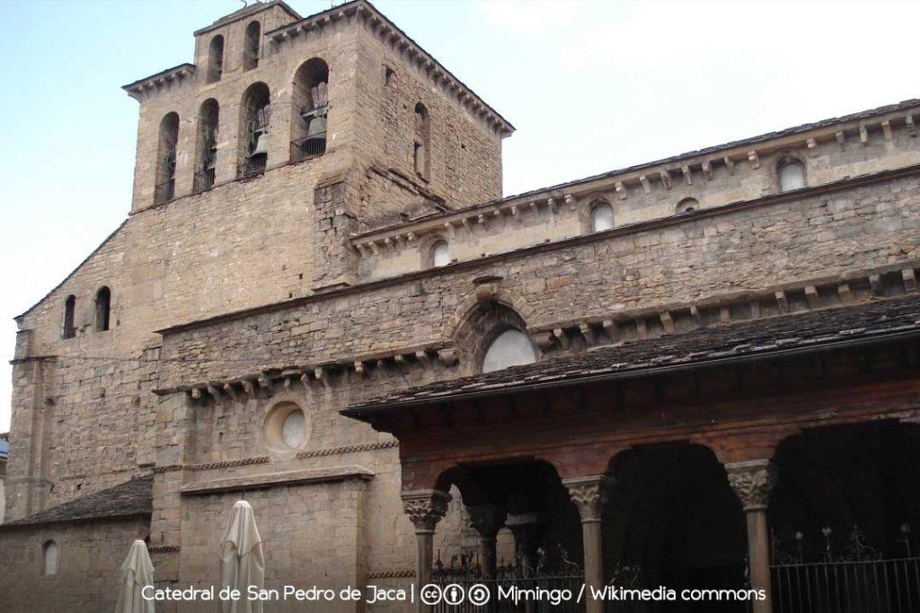Catedral de Jaca / Foto: Mjmingo [CC-BY-SA-3.0] Wikimedia Commons