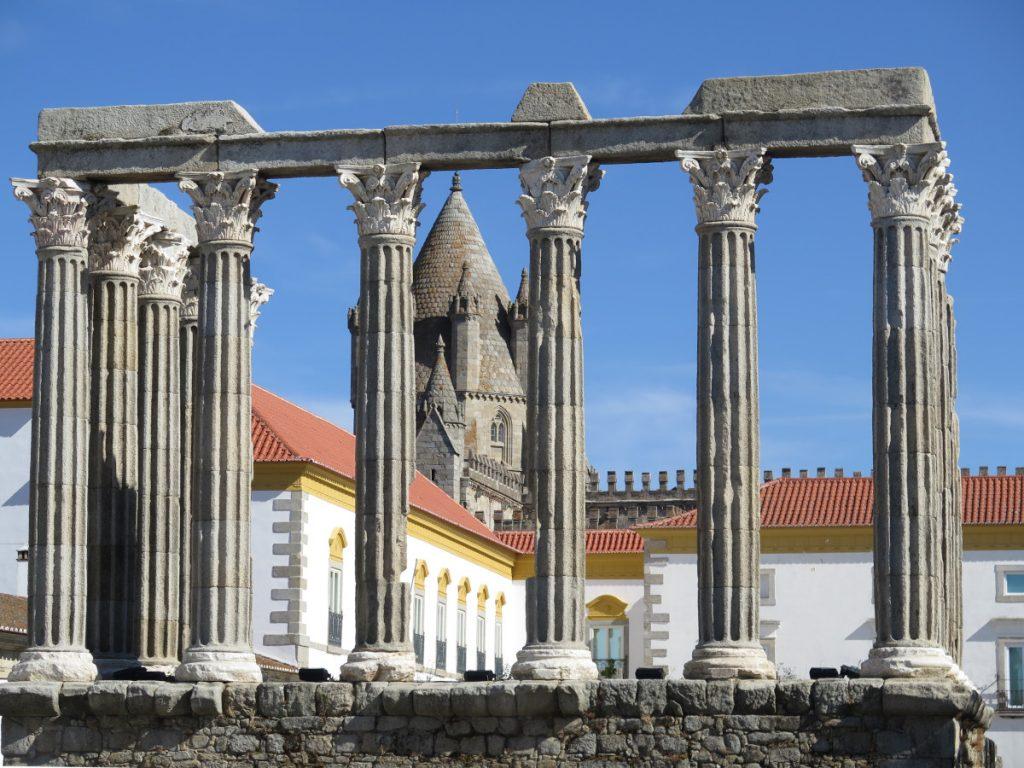 Templo Romano, Évora / Foto: Eduardo Azcona