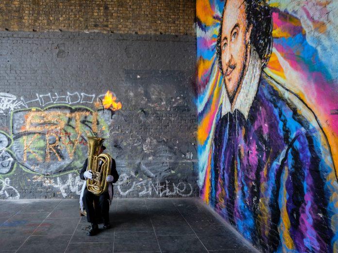 Mural de Shakespeare, London, Storbritannien / Foto: Jessica Pamp (unsplash)